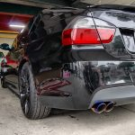 BMW E90 マフラー交換
